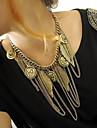 Pentru femei Formă Ciucure Modă European Coliere Aliaj Coliere Petrecere Zilnic Casual Costum de bijuterii