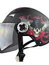 racing t505-5 abs material anti-uv motorcykel racing halva hjälm (tillval färger)