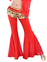 Belly Dance Bottoms Women\'s Training Polyester Sequined Sequin Pants