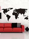 autocolante de perete harta mari la nivel global harta lumii atlas de vinil decalcomanii de perete lavabile