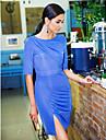 TS asimetric Pliuri Slim Dress
