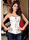 Feminin Corset peste Bust Pijamale Polyester / Spandex Solid