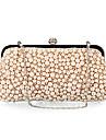 polyster / pärlor bröllop / speciella tillfällen kopplingar / kväll handväskor (fler färger)
