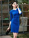 TS Pliuri Bodycon Dress