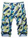 Bărbați Șic & Modern Pantaloni Scurți Pantaloni Imprimeu Multicolor
