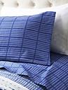 Confortable Microfibre Ensemble de draps Plaine Rayure Impression pigmentaire