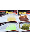 12 pcs Csali Soft Bait Lure Packs Silicon Morski ribolov Slatkovodno ribarstvo Općenito Ribolov