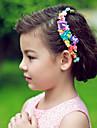 Femei Fata cu Flori Hârtie Diadema-Nuntă Ocazie specială Cordeluțe Flori