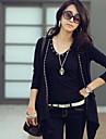Femei de moda Slim Cardigan Coat Knit