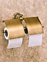Toalettpappershållare Hög kvalitet Antik Mässing 1 st - Hotellbad