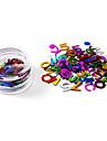 80pcs Glitter & Poudre Autres décorations Abstrait Mode Haute qualité Quotidien