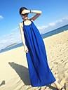 YiFanYiGui ™ femei curea solid Culoare Sexy fără mâneci lungi Halter Dress