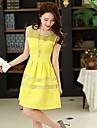 Femei New mâneci rochie eleganta Casual