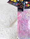 baoguang®600pcs culoare curcubeu schimba război de țesut UV culoare modă război de țesut banda de cauciuc (clip 1package e)