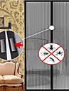 plasă de țânțar magnetice anti-țânțar ochiurilor de plasă perdele ușă tul ecran fereastră