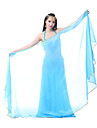Belly Dance Stage Props Women\'s Performance Chiffon Veil