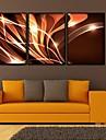 Καμβάς σε Κορνίζα Σετ σε Κορνίζα Φαντασία Wall Art, PVC Υλικό με Πλαίσιο Αρχική Διακόσμηση Πλαίσιο Τέχνης Σαλόνι Υπνοδωμάτιο Κουζίνα
