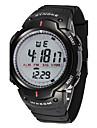 Bărbați Ceas Sport Ceas de Mână Piloane de Menținut Carnea Alarmă Calendar Cronograf Rezistent la Apă LED LCD Cronometru Cauciuc Bandă