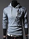 lesen män hoodie mode kinesisk stil drake ut avslappnad hoodie o