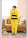 Kigurumi Pijamale Pika Pika Costume Coral Fleece Kigurumi Leotard / Onesie Cosplay Festival / Sărbătoare Sleepwear Pentru Animale