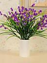 1 bouquet de soie en tissu de soie de haute qualite simulation iris fleur