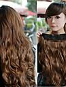 Kinky Curl Fem klipp i hårförlängning 20inch 1Pc/Lot