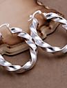 vilin kvinnors spiralband örhängen klassisk feminin stil
