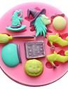 bakformen Choklad Kaka Tårta Silikon Miljövänlig GDS (Gör det själv) Hög kvalitet