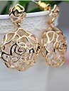 Cercei Stud La modă Zirconiu Zirconiu Cubic Reșină Aliaj Flower Shape Rose Bijuterii Pentru Nuntă Petrecere Zilnic Casual Sport