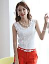 sexylady nou dantelă coreean solid de culoare curte mare vestă