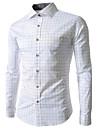 extinsă verificat tricou cu maneca lunga duobilun omului