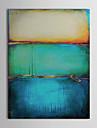 Peinture a l\'huile Hang-peint Peint a la main - Abstrait Style europeen Moderne Toile