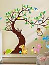 Landskap Djur Stilleben Fritid fantasi Botanisk Väggklistermärken Väggstickers Flygplan Dekrativa Väggstickers, Vinyl Hem-dekoration