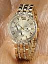 Bărbați pentru Doamne Unisex Ceas Elegant Ceas de buzunar Ceas de Mână Japoneză Quartz imitație de diamant Aliaj Bandă Sclipici Auriu