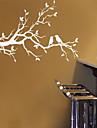 Landskap Stilleben Romantik Mode Botanisk Väggklistermärken Väggstickers Flygplan Dekrativa Väggstickers, pvc Hem-dekoration