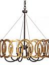 QINGMING® Lustres Luz Superior - Estilo Vela, Tradicional / Classico, 110-120V 220-240V Lampada Nao Incluida