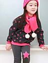 fire de bumbac coreeană pieptănat jambiere finegilt fete