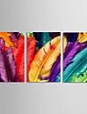 Natură moartă Modern Tradițional,Trei Panouri Orizontal print Arta Decor de perete For Pagina de decorare
