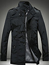 Dibai Men's Stand Collar Fashion Coat