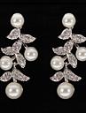 Pentru femei Perle Cercei Picătură - Argintiu Pentru