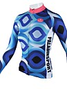 ILPALADINO Femme Manches Longues Maillot de Cyclisme Velo Maillot, Sechage rapide, Respirable