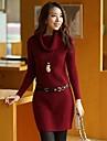 Women's  Slim  Elegant  High  Neck  Sweater (More Color)