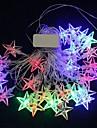 1 buc Stele Lumini De Crăciun, Decoratiuni de vacanta 200.0*5.0*5.0