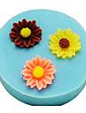 Moule de Cuisson Fleur Pour Gâteau For Chocolate Pour Tarte Silikon Bricolage Ecologique Thanksgiving