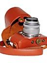 SLR-Fodral- tillOlympus-En-axel- medDammsäker-Vit Svart Röd Kaffe Brun