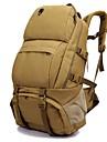 50 L Backpacker-ryggsäckar Camping Klättring Fritid Sport Resa Fuktighetsskyddad Vattentät Snabb tork Regnsäker Vattentät dragkedja Damm