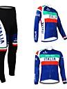 Kooplus Herr Dam Unisex Långärmad Cykeltröja och tights Cykel Tröja Klädesset Välj färg 6 # Välj färg 7 # Välj färg 8 # Välj färg 9 #
