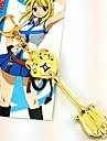 Bijuterii Inspirat de Basme Lucy Heartfilia Anime Accesorii Cosplay Colier Auriu Aliaj Bărbătesc / Feminin