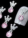 10 Nail Smycken Andra dekorationer Frukt Blomma Abstrakt Klassisk Tecknat Vackert Bröllop Dagligen Frukt Blomma Abstrakt Klassisk Tecknat