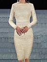 moda dantelă casual, rochie cu maneci lungi Monta femei